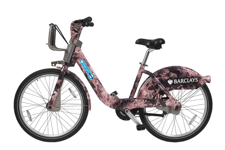 Barclays Cycle Hire Braganza bike