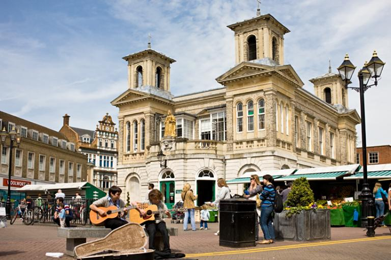Kingston-upon-Thames Market Square (Photo: Kreepin Deth)