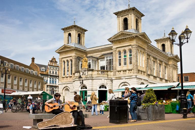 Kingston-upon-Thames Market Square (Photo: Kreepin Deth)
