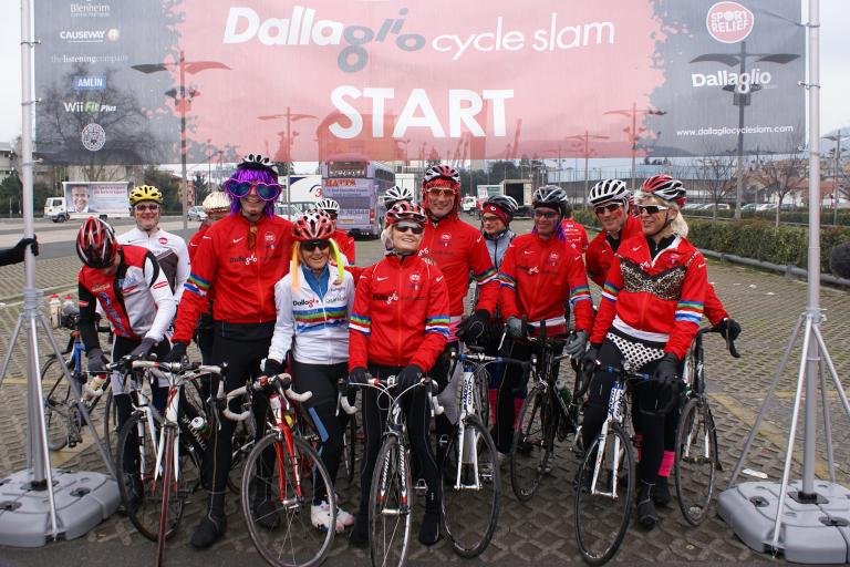 Lawrence Dallaglio Cycle Slam Twickenham.JPG