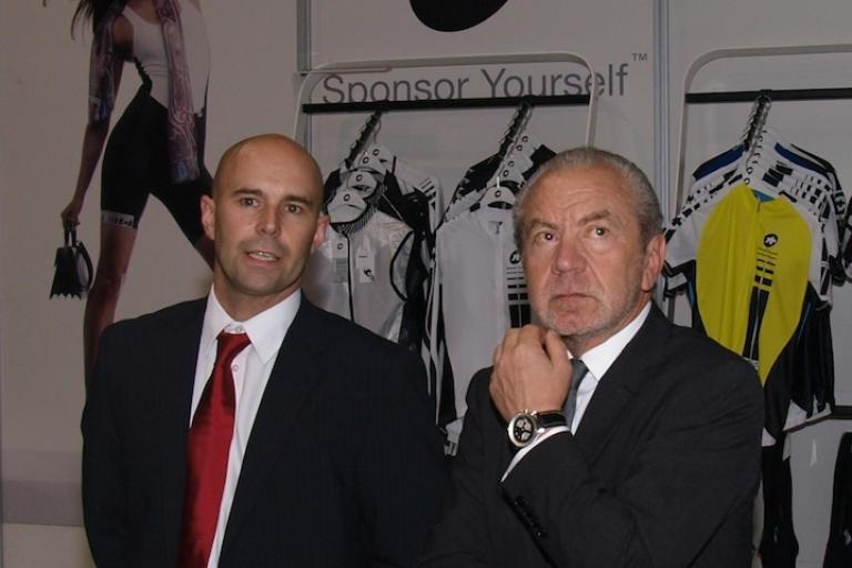 Lord Sugar at the Cycle  Show (copyright Simon MacMichael).jpg