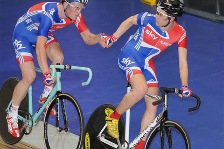 National Madison Championships 2010 (copyright Larry Hickmott:British Cycling).jpg