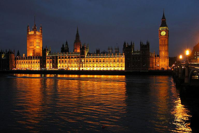 Palace Of Westminster At Night © Andrew Dunn.jpg