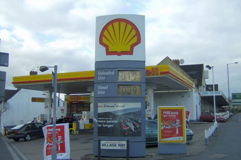 Petrol Station - pic: Billy Hicks