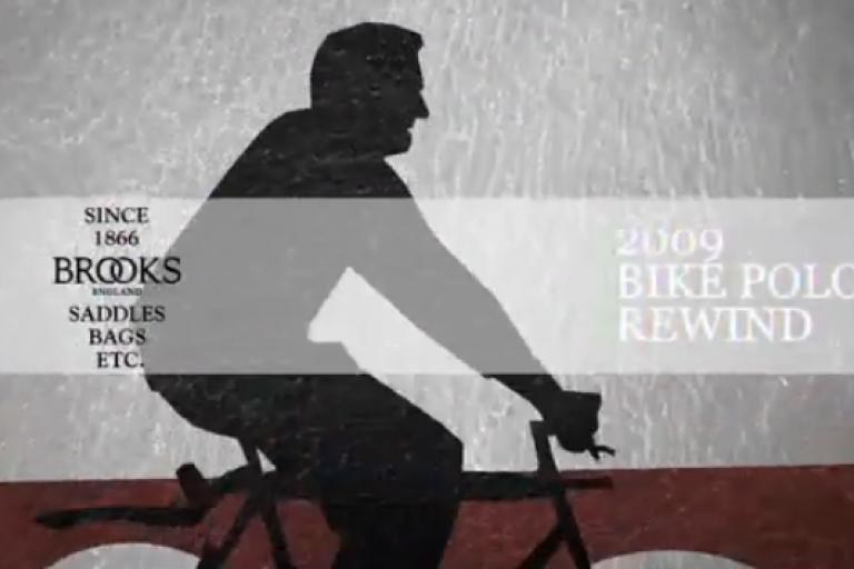 Brooks - BikePolo 2009 rewind title image