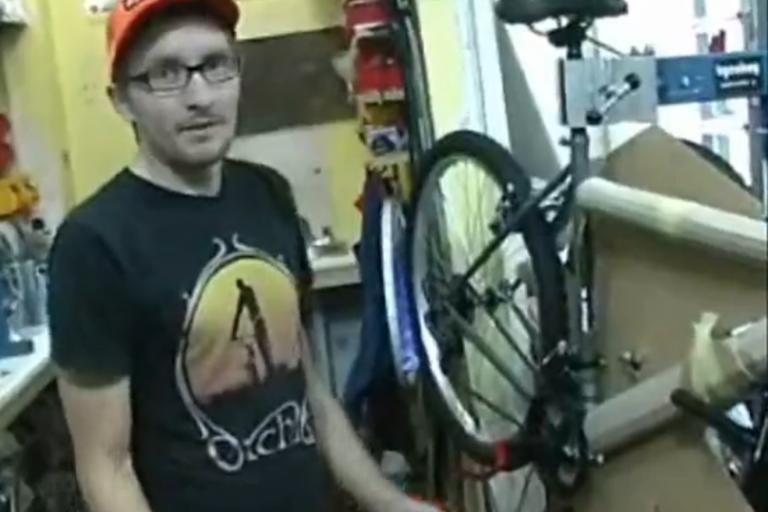 Asda £70 bike - building