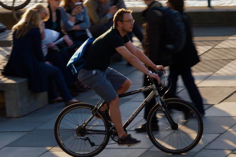 South Bank Cyclist © Simon MacMichael.jpg