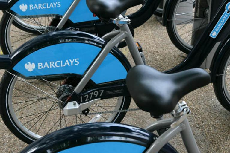 Barclays Cycle Hire bike wheels
