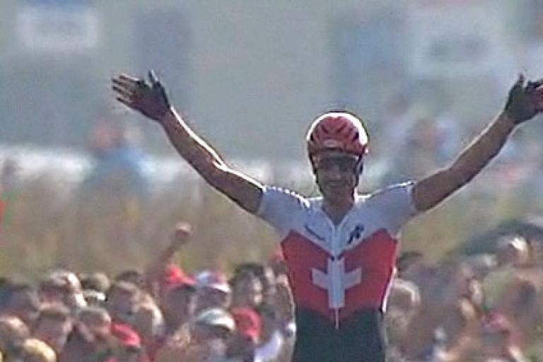 Fabian Cancellara wins World Champ TT