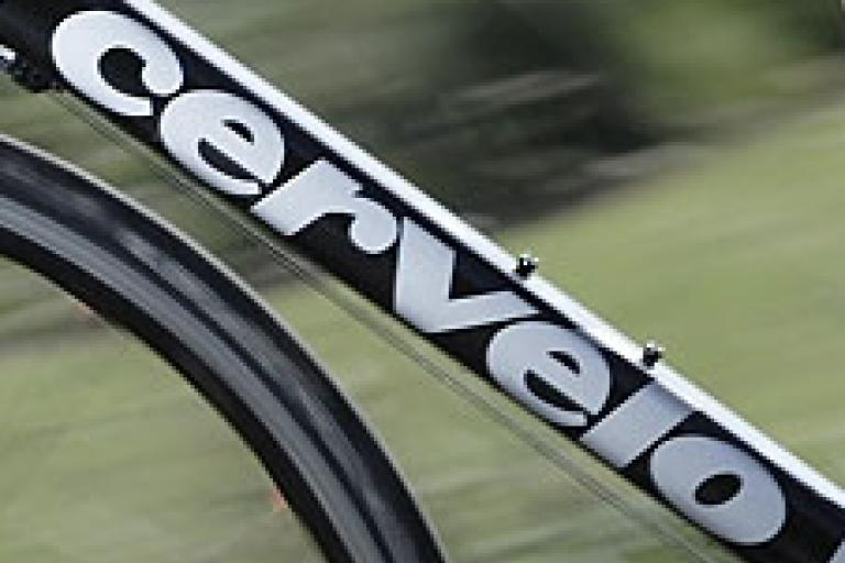 Cervelo downtube logo