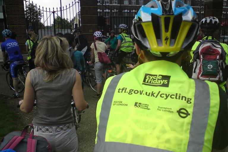 Cycle Friday, Finsbury Park - St. Pauls London