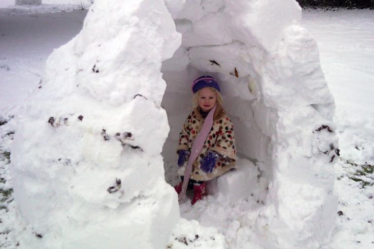Eskimo girl
