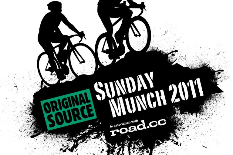 Mountain Mayhem Sunday Munch sportive with roadcc logo