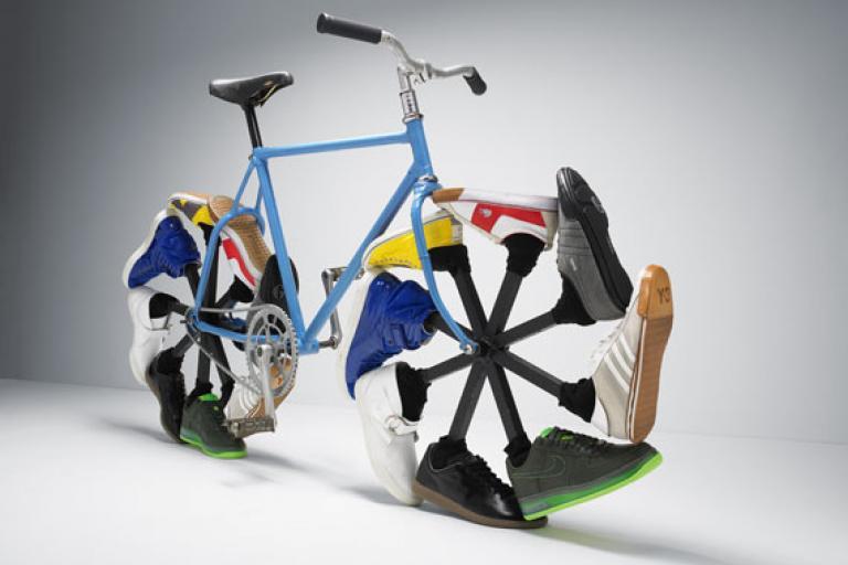 Shoe bike