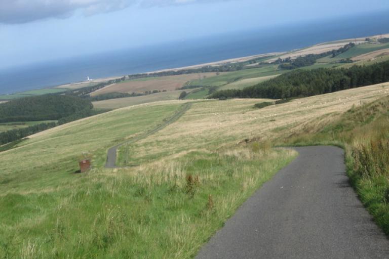 Winding road (Copyright james denham)