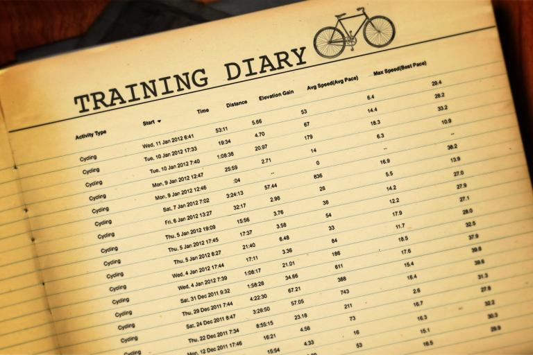 Sam's Training Diary