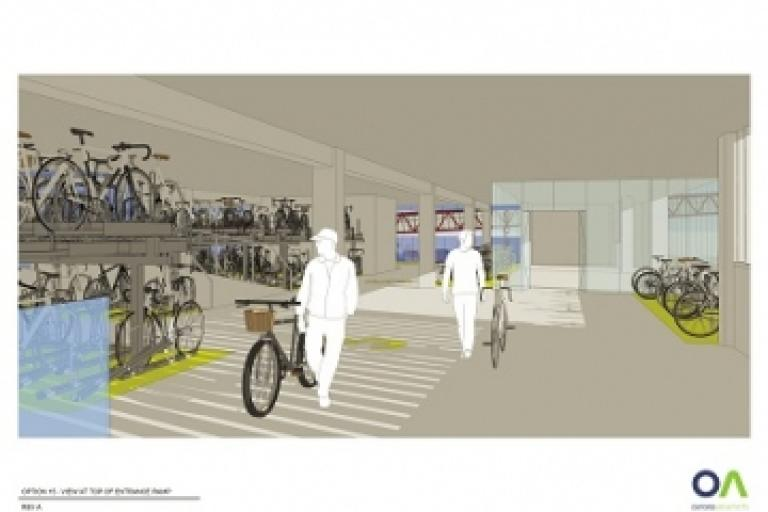 Cambridge Cycle Park indicative image 1 (source Brookgate website)
