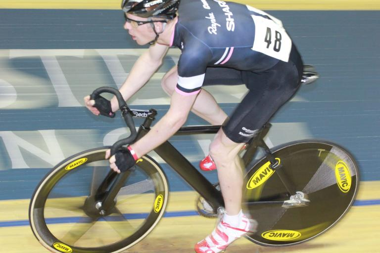 Ed Clancy – in action at Revolution