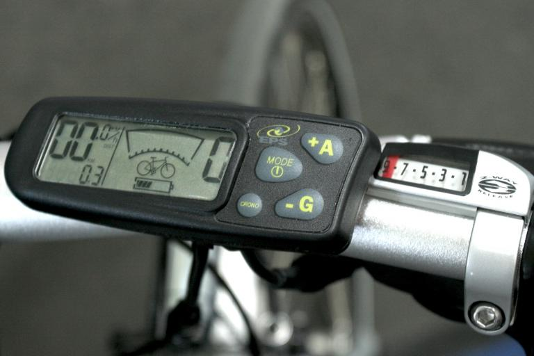 Diamant electric bike - controls