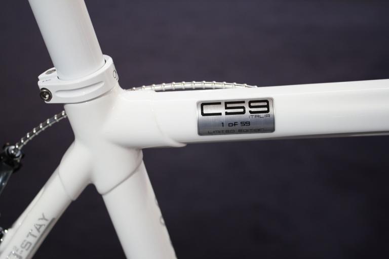 Colnago C59 frame detail