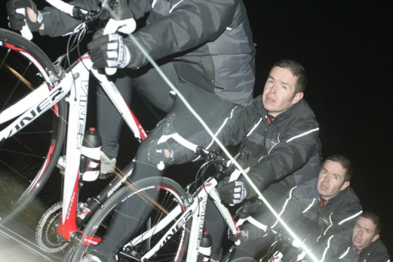 Jole Rider 12hr - Tony pushes on through the night