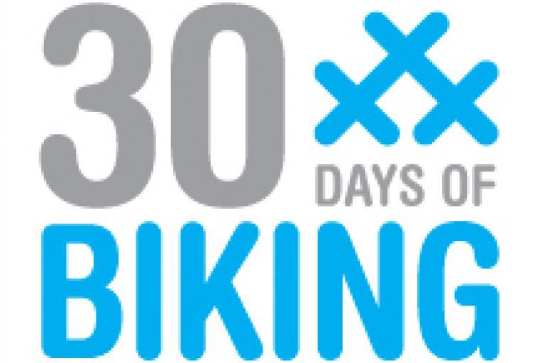 30 Days of Biking 2012 logo