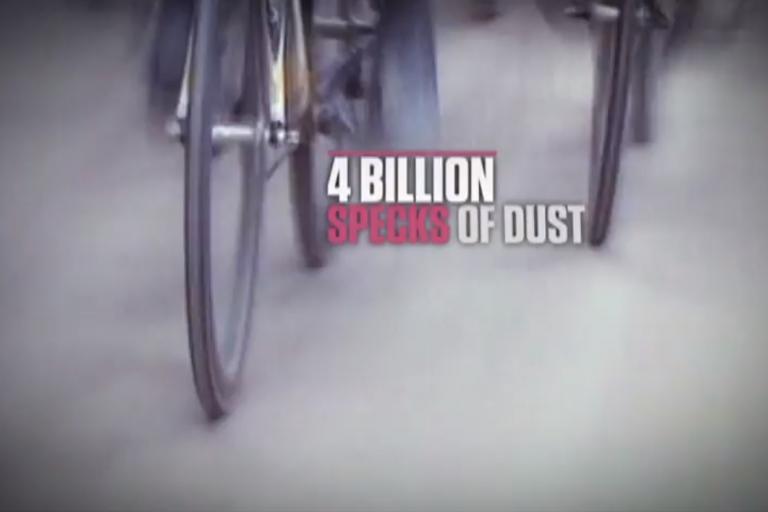 4 billion specks of dust