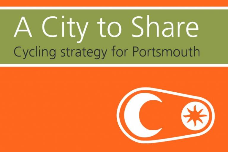 A City to Share cover detail - source Portsmouth Cycle Forum