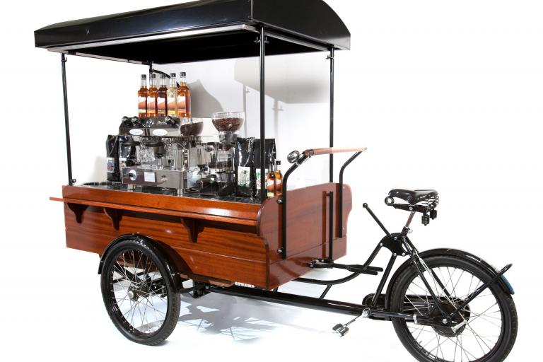 An espresso trike from onyourtrike.co.uk