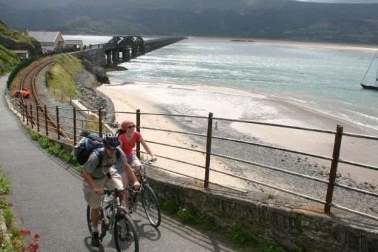 Barmouth Bridge cycle walking path