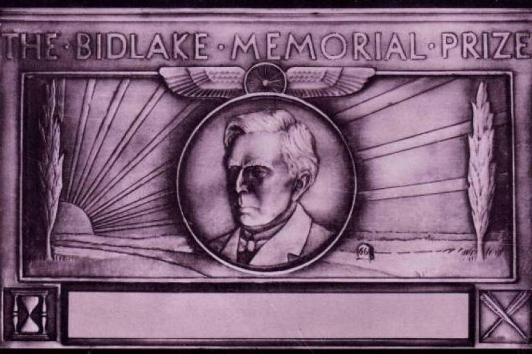 Bidlake Memorial Plaque