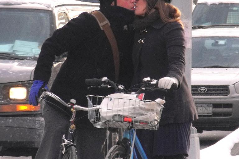 Bike commuting NYC (copyright bicyclesonly via Flickr)