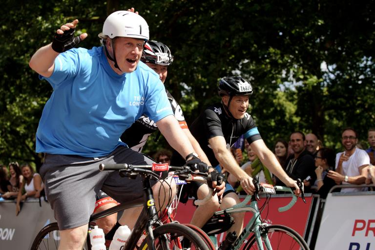Boris Johnson (picture credit Prudential RideLondon)