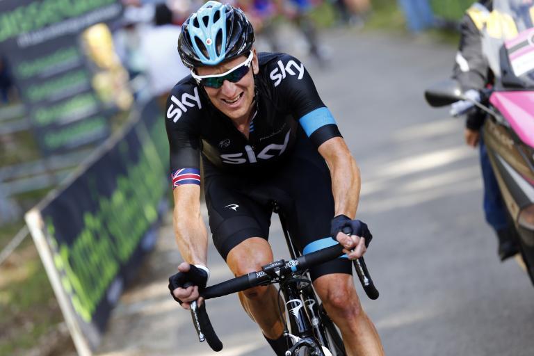 Bradley Wiggins on Giro 2013 Stage 10 (Pool-Trovati-LaPresse)