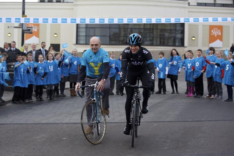 Brian Robinson and Ben Swift (picture Welcome To Yorkshire)