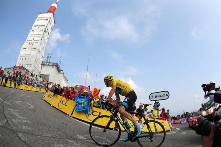 Chris Froome Ventoux finish (© Team Sky)