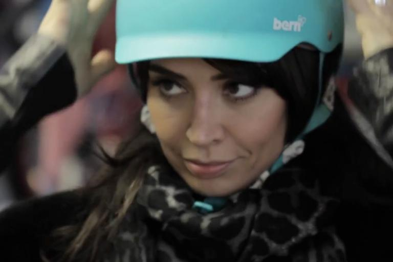 Christine Bleakley Cycling and the City YouTube still