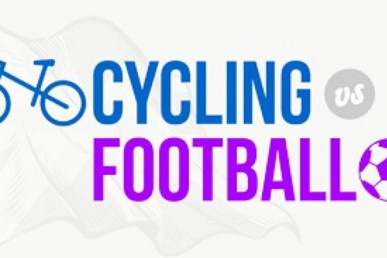Cycling vs football