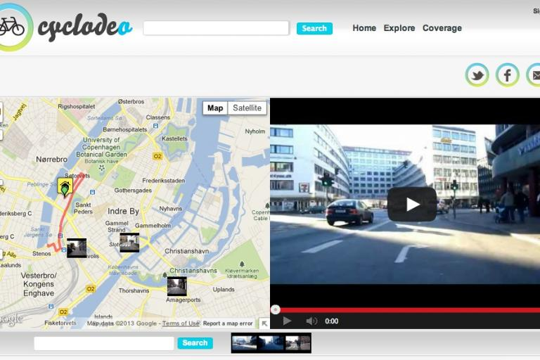 Cyclodeo Copenhagen screenshot
