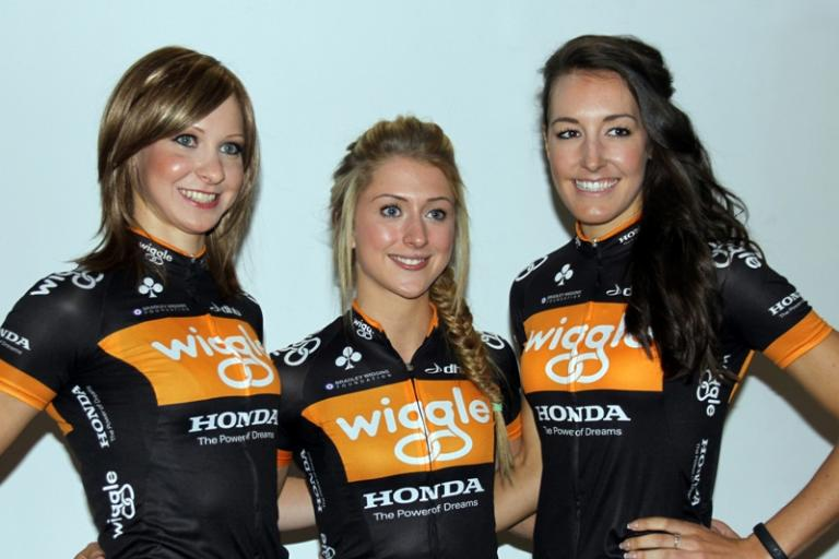 Joanna Rowsell, Laura Trott and Dani King © Wiggle Honda Pro Cycling