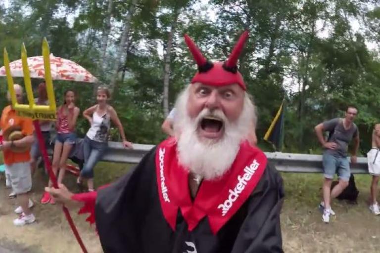 Didi the Devil Velon CC video bomb YouTube still