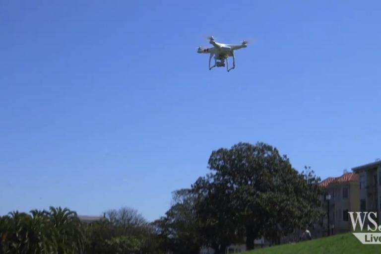 Drone from Wall Street Journal