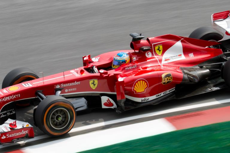 Fernando Alonso 2013 Malaysia GP (CC licensed by Morio)