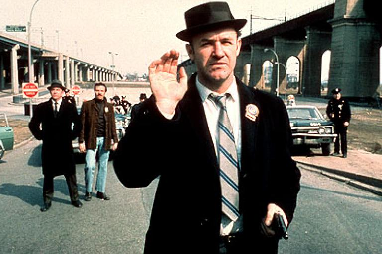 Gene Hackman in The French Connection