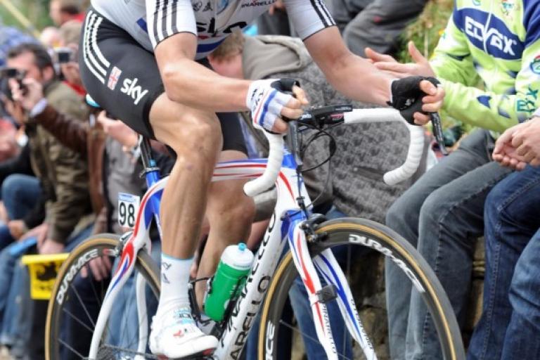 Geraint Thomas at Tour of Flanders.jpg