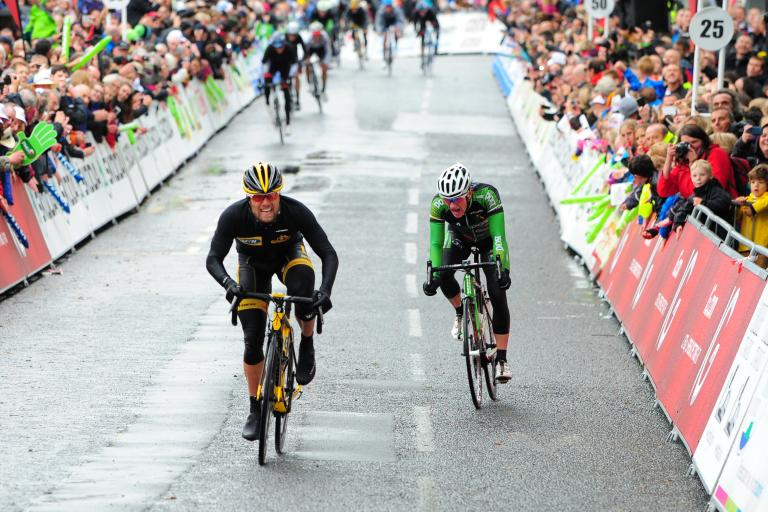Gerald Ciolek wins 2013 Tour of Britain Stage 2 (pic credit - Sweetspot Group:Tour of Britain)