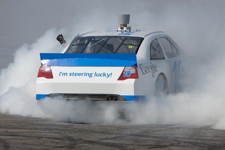 Google Racing image (picture source Google inc)