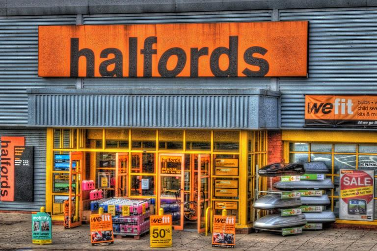 Halfords (CC licensed image by John Parish:Flickr)
