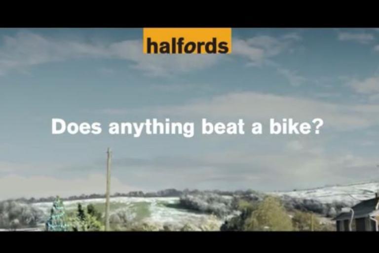 Halfords Christmas advert 2014