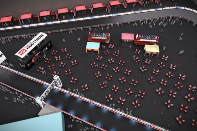 IG Nocturne London Bike Show CGI impression